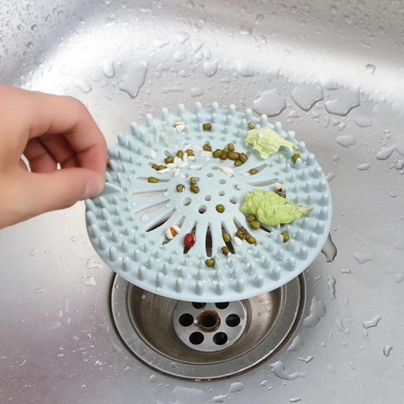Home Kitchen Bathroom Sink Strainer Stainless Steel Drain Filter Strainer DB