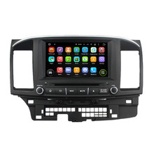 8 Inch Quad Core HD1024*600 Android 5.1 Car DVD Player For MITSUBISHI LANCER 2014-2015 Stereo Multimedia Player Free 8GB MAP