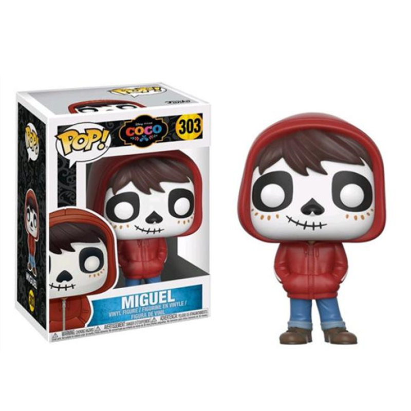 Funko POP Pixar's Coco & Miguel Brinquedos Collection PVC Action Figure Toys For Children Birthday Gift