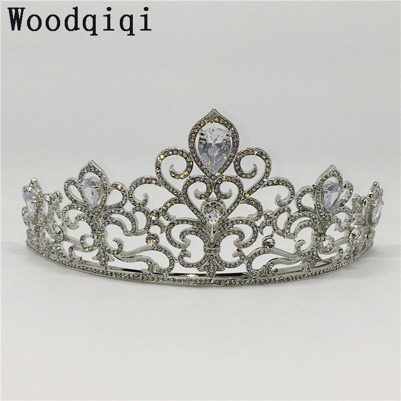 Woodqiqi flores wedding tiara weddings crown queen crown head jewelry casamento rustico coroas diadeem noiva