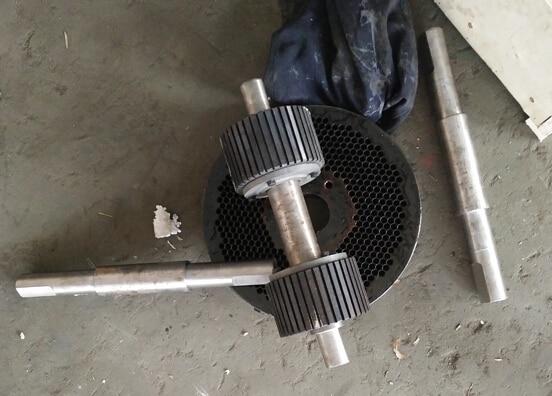 one set roller shell of KL300 model pellet machine
