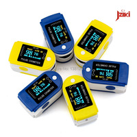 LED Finger Pulse Oximeter Blood Oxygen SpO2 Saturation Oximetro Monitor Blood Pressure Auxiliary Alarm Oximetry Free