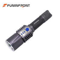 50pcs Lot USB Charging CREE XM L2 Powerful Tactical Handheld Led Flashlight Torch Rechargeable 2000