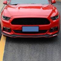 2.5m Car Front Bumper Lip Protector Car Rubber Strip Car Styling Accessories Stickers For SEAT leon ibiza altea alhambra