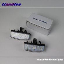 цена на Liandlee For Toyota Matrix / Venza 2008~2014 / LED Car License Plate Light / Number Frame Lamp / High Quality LED Lights