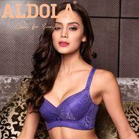 ALDOLA Plus Size Female One Piece Bra Design Seamless Push Up Bra Comfortable Women Intimates Ladies