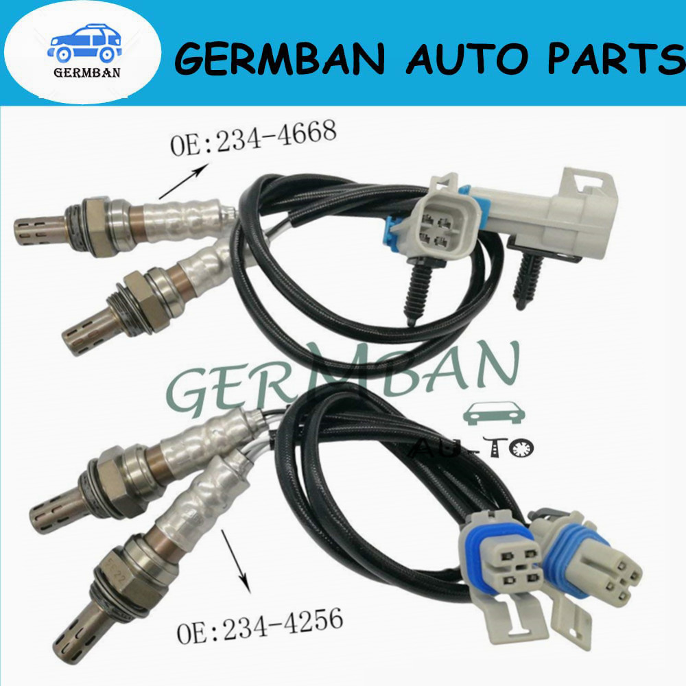 New Manufactured 4X Oxygen Sensor Upstream Downstream For GMC Yukon 2006-2014 Chevy Silverado 1500  234-4668 234-4256 12609457New Manufactured 4X Oxygen Sensor Upstream Downstream For GMC Yukon 2006-2014 Chevy Silverado 1500  234-4668 234-4256 12609457