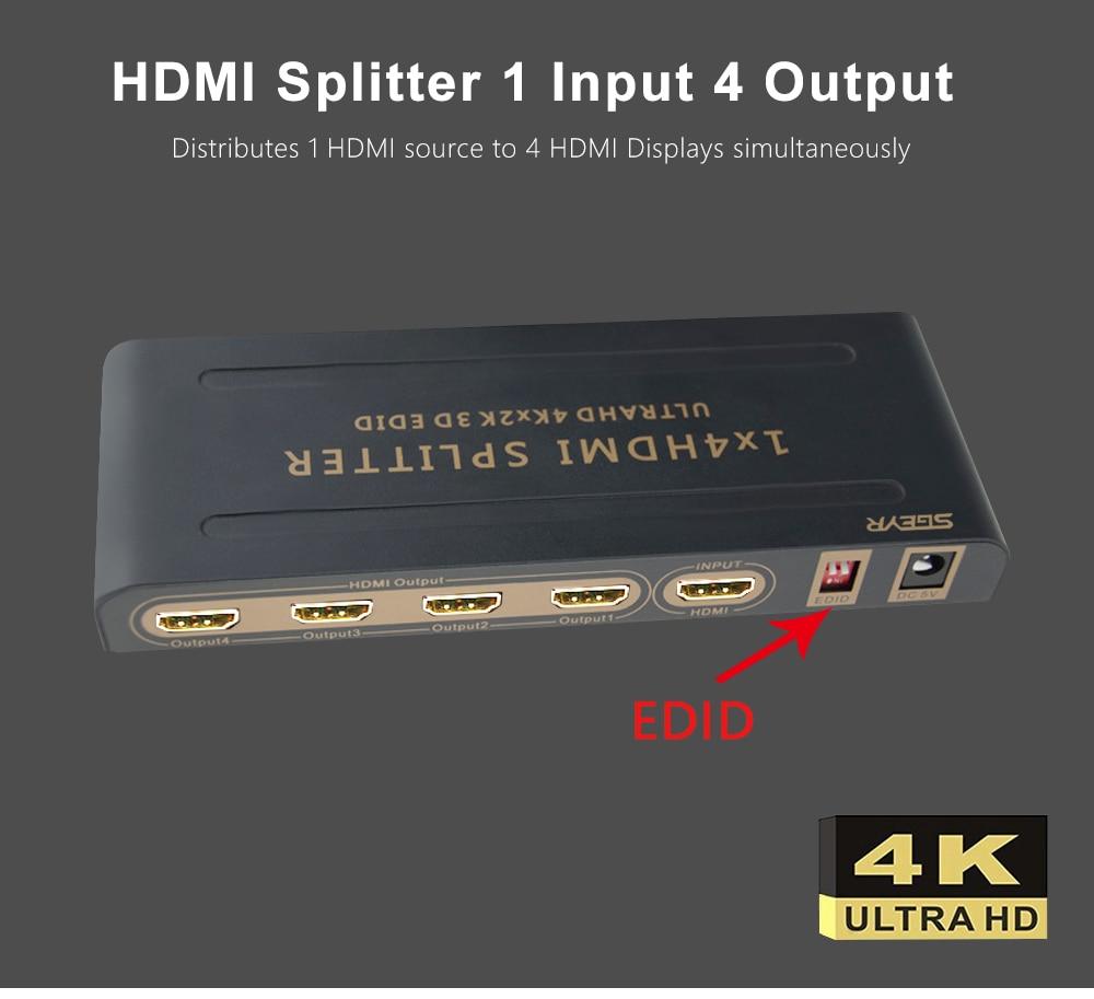 Cheap hdmi splitter 1x4
