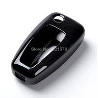 Baking Varnish Abs Car Key Cover Shell For Ford Focuse 3 2012 Cool Flip Remote Key