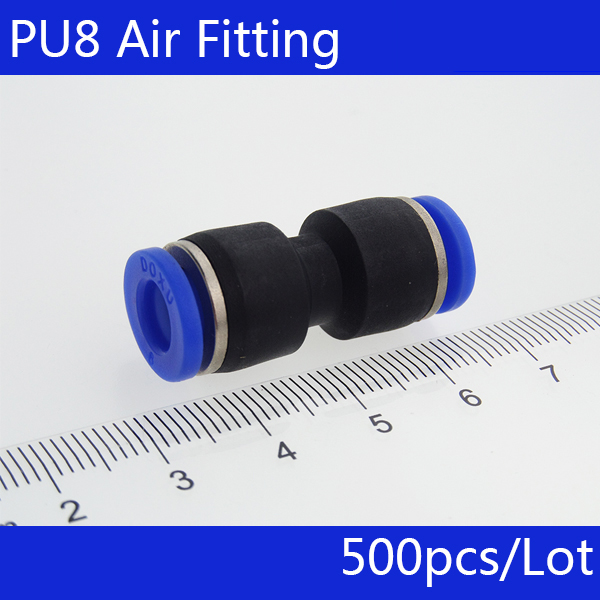 10x aire neumático 2 Way rápida Accesorios Recto empuje en Conector 14mm Tubo Manguera