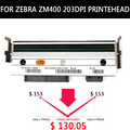 Tête d'impression d'imprimante thermique pour les imprimantes de code barres de zèbre ZM400 203dpi Compatible tête d'impression 79800M garantie: 90 jours