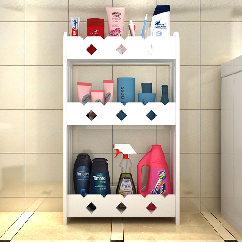 Simple Fashion Bathroom Storage Shelf Wall Mounted Toilet Storage ...