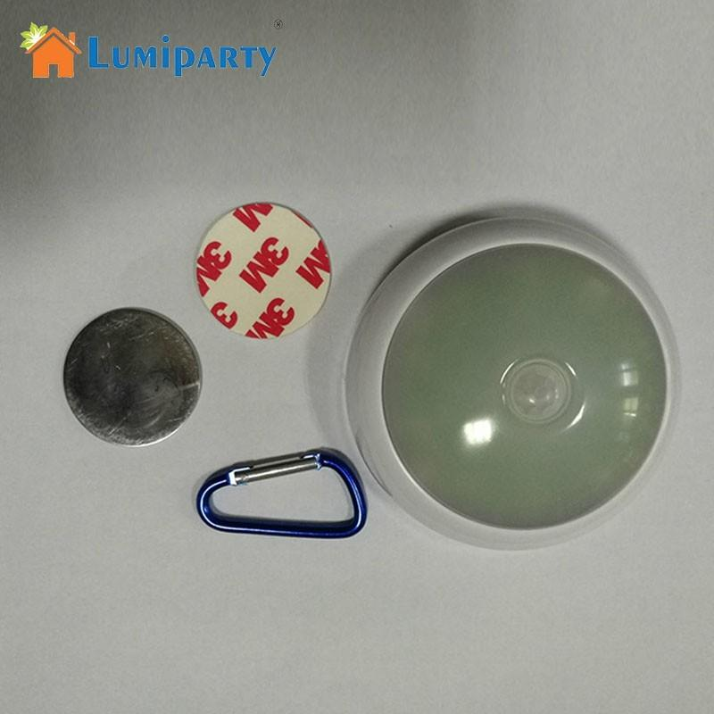LumiParty Multi-functional LED Light Human Body Induction Lamp Outdoor Camping Dangerous Signal Lamp