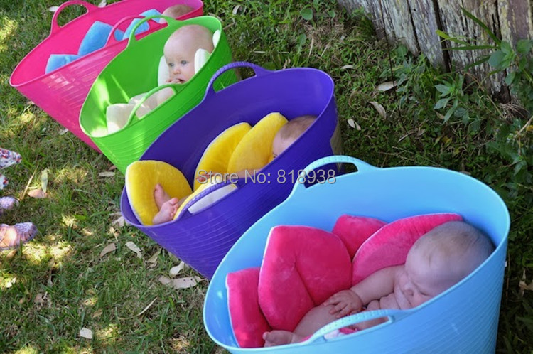 With Filler Blooming Bath Baby Bathing Item Yellow,Pink & Blue ...