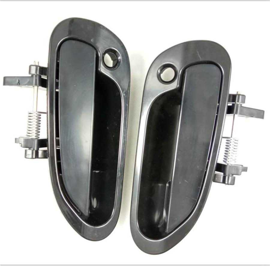 2 PCS/A Pair Outside Exterior Car Door Handle For Honda accord Six ...