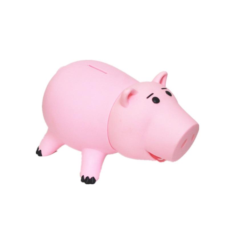 20cm Toy Story Hamm Piggy Bank Pink Pig Coin Box PVC Figure Toys XD242