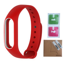 Xiaomi Mi Band 2 Silicone Wristbands Colorful Replacement Strap