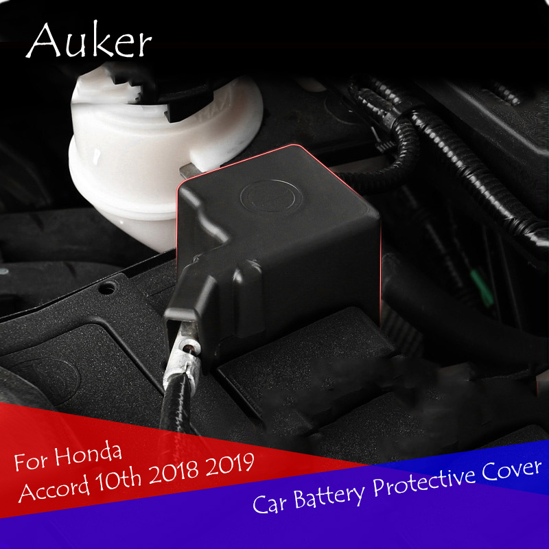 <font><b>Car</b></font> <font><b>Battery</b></font> Electrode Waterproof Dustproof Protective Cover Sticker For <font><b>Honda</b></font> <font><b>Accord</b></font> 10th 2018 2019 image