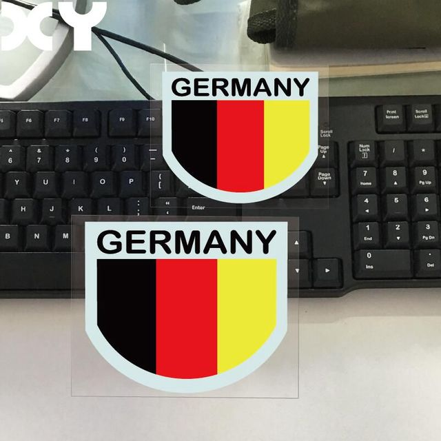Germany flag vinyl decal waterproof car stickers and decals wall sticker motorcycle stickers automobiles sticker drop