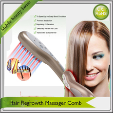 3 IN 1 Colorful Led Photon Ionic Vibration Health Care Hair Growth Treatment  Electric Scalp Stimulator