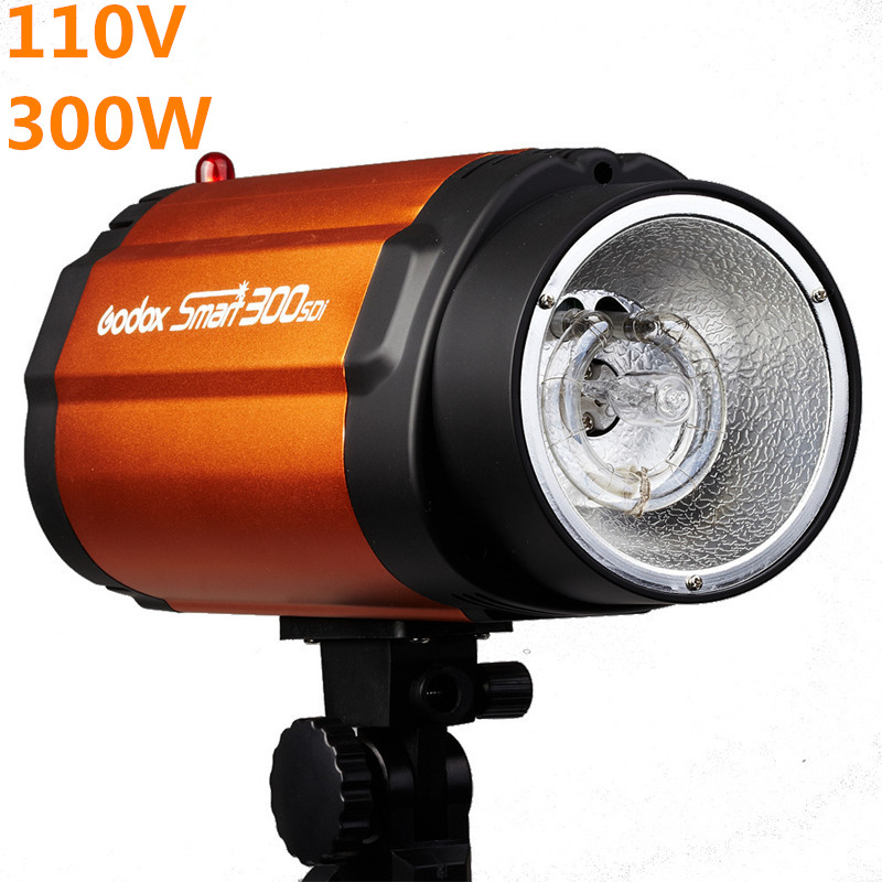 110V 300ws Godox Smart 300SDI Photography Studio Mini Strobe Flash Light Photo Studio Photographic Lighting High Quality цена 2016