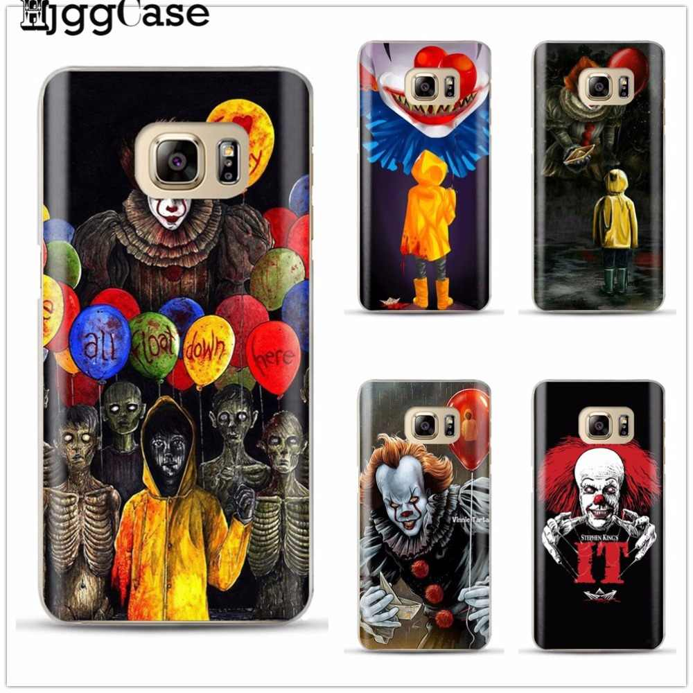 Stephen king's it soft Pennywise The Clown Horror Cover TPU Soft silicone Phone Case For samsung Galaxy A3 A5 A7 J3 J5 J7 2017
