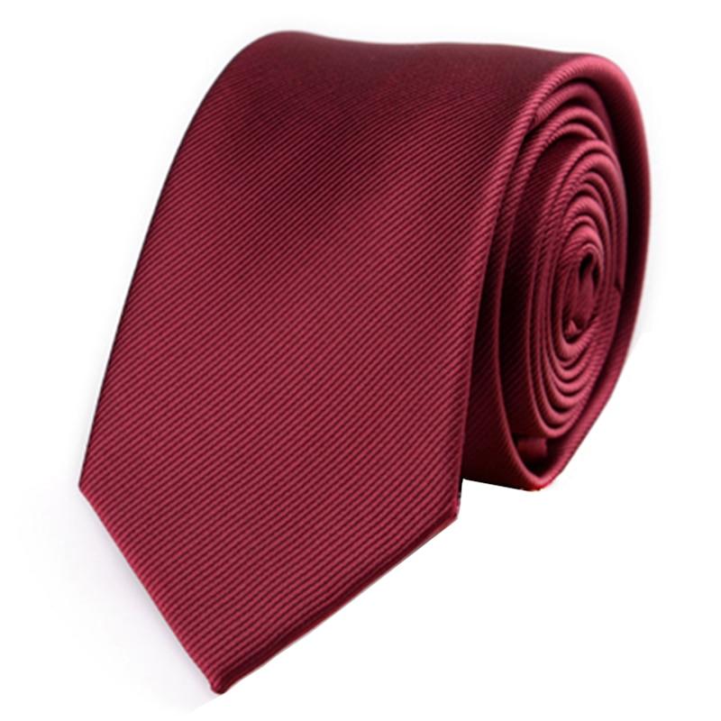 JEMEGINS Corbata Flaca De Poliéster Corbatas Simples Para Hombres - Accesorios para la ropa - foto 3