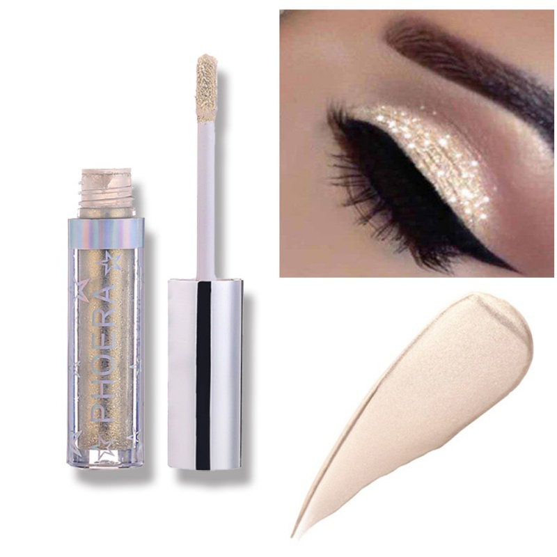 12 Colors Eyeshadow Liquid Pearly Matte Eye Shadow Glitter Lasting Natural Eye Shadow Eye Makeup