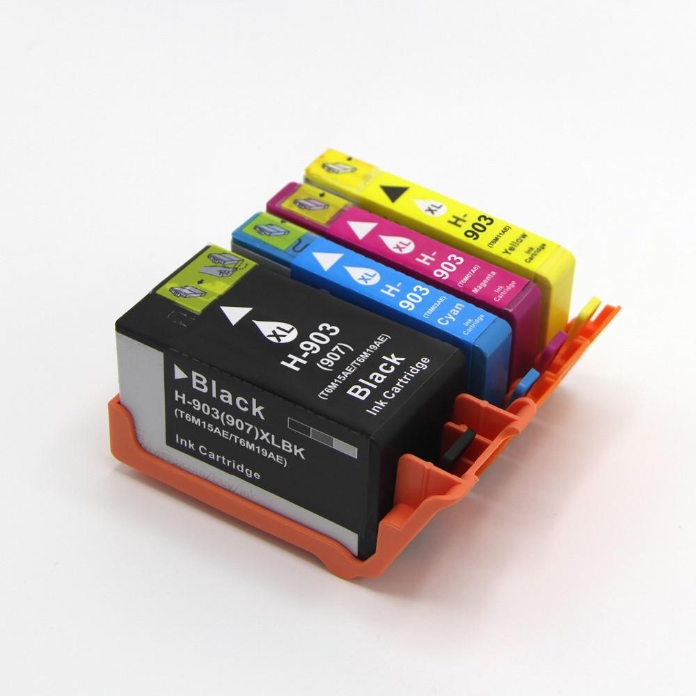 BLOOM compatible POUR hp 903XL 903 XL Cartouche D'encre avec puce pour HP OfficeJet 6950 6956 Pro 6960 6970 imprimante