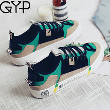 GYP 2018 New Women Sneakers Mixed Colors Lace Up Female Trainers High Quality walking sports Shoes Colorful Size 35-40 YC-79