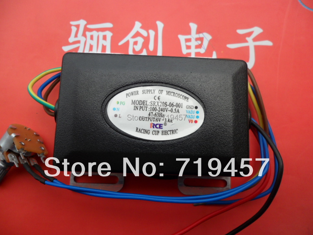 FREE SHIPPING Srx20s-06-001 Microscope Module Power Supply Module 6v Voltage 20w