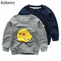 Moleton Infantil 2017 Autumn Printed Chicks Long Sleeve Sweatshirts Boys Girls Hoodies Fashion O Neck Pullover Sudaderas Kids