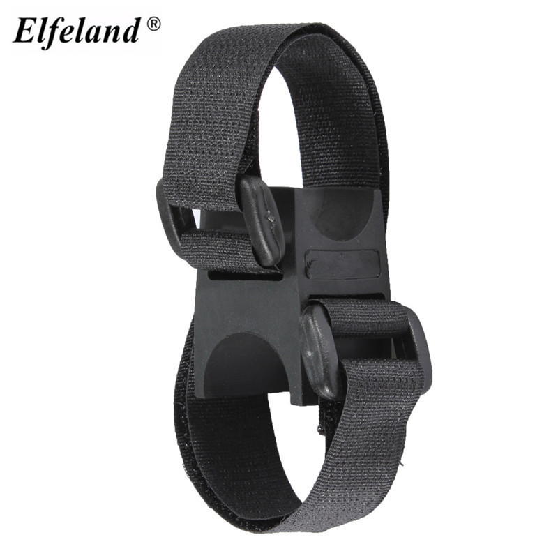 Adjustable adhesive strap Belt Bicycle Clamp LED Flashlight Torch front Light Holder Mount Bracket Bicicleta Cycling Bike Clip alonefire cycling grip mount bike clamp clip bicycle flashlight led torch light holder plastic clip flashlight holder