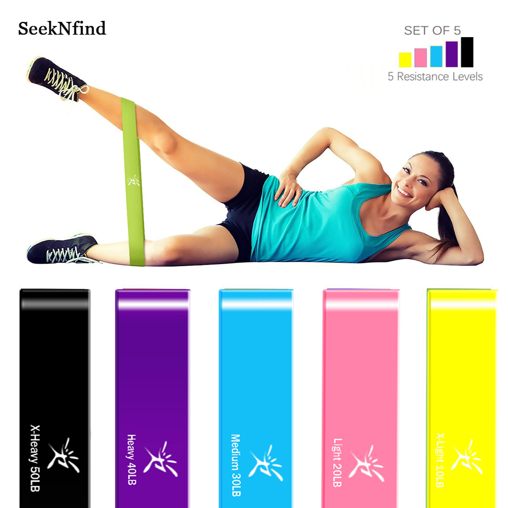Resistance Loop Bands Gum For Fitness Bands Elastic Band Workout Crossfit Strength Pilates Fitness Equipment Training Expander