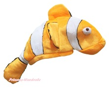 Halloween Gold Nemo Fish Party Animal Costume Warm Hat Mask Cap Headgear FixSize