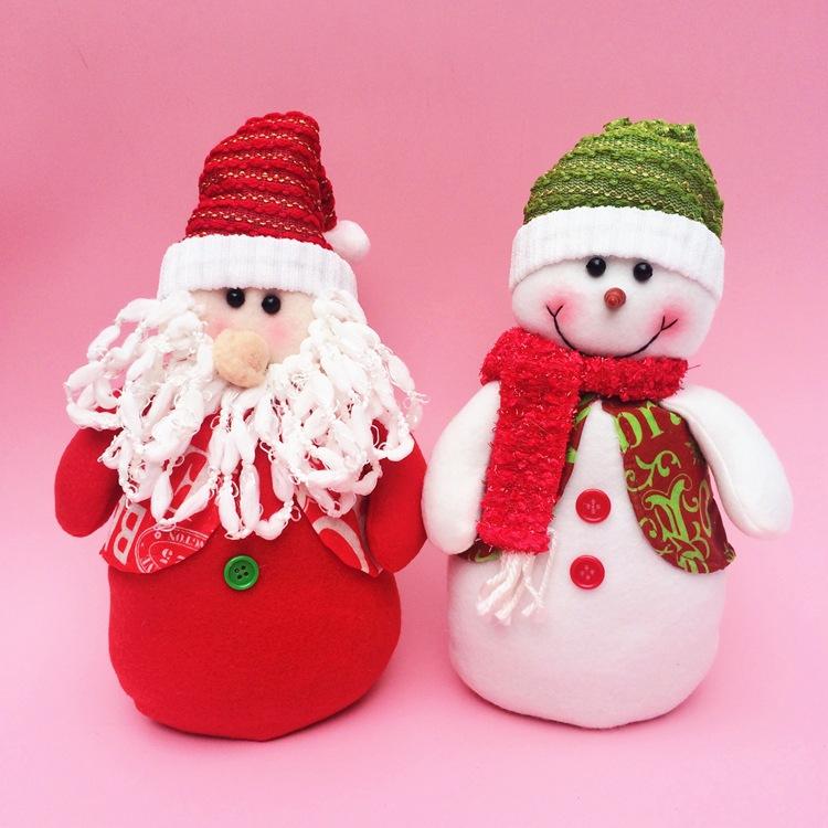 navidad tteres mueca mueco de nieve de santa claus de navidad de la mueca de