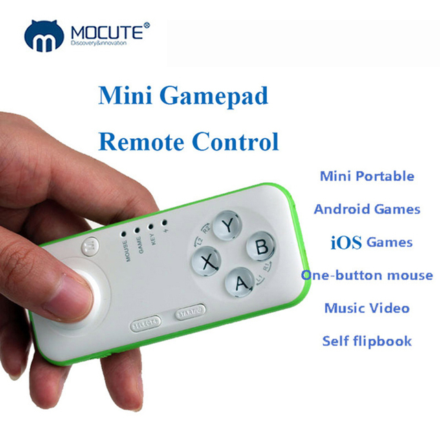 Mocute Wireless Mini Game Pad Bluetooth Android Gamepad Joystick Control For Cellular Phone PC Controller Vr Mobile iPhone Ios