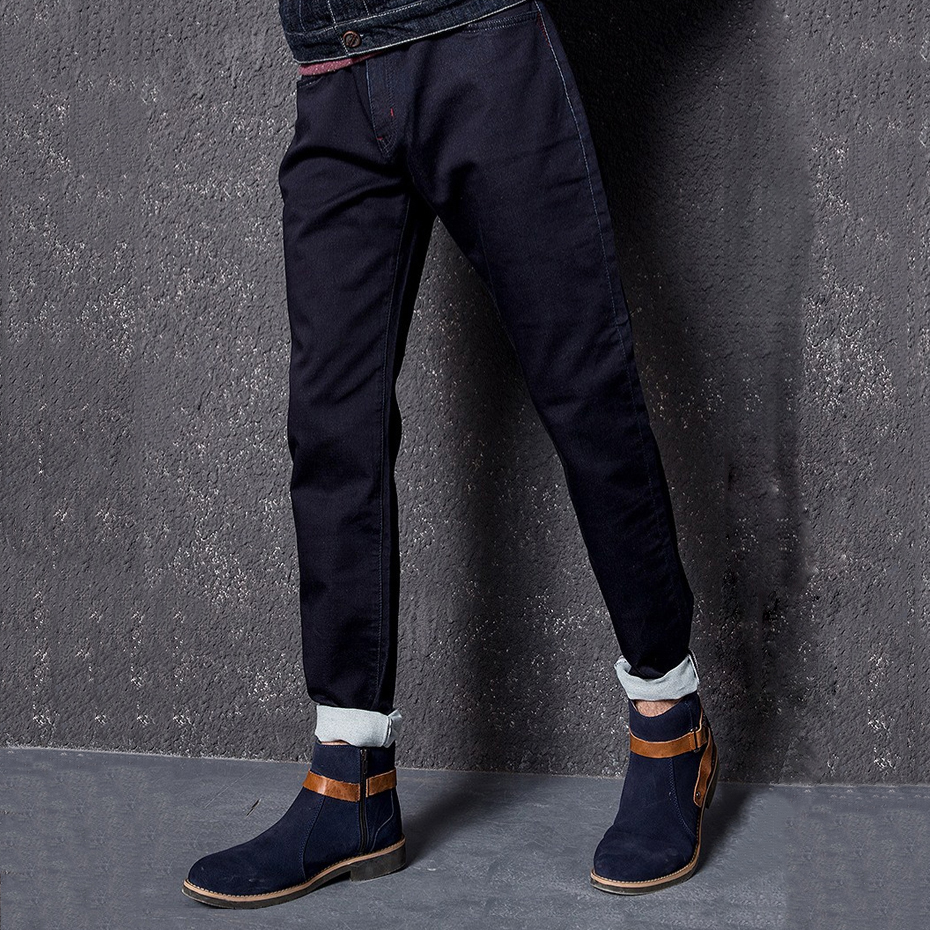 BASIC POWER 2017 Men Straight Jeans New Fashion Slim Casual Pants Mens Trousers Top Brand Business Jean 3105 techome new 2016 jean mens pants men s jeans men trousers mid waist straight business casual style size jeans homme plus size 22