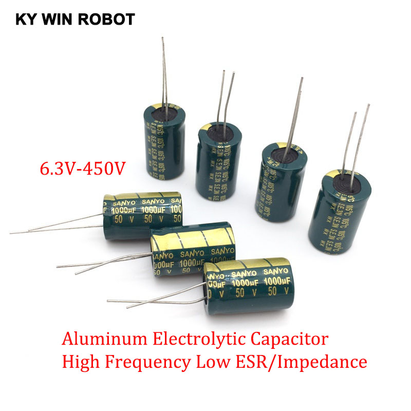 2-50pcs-10v-16v-25v-35v-50v-high-frequency-low-esr-aluminum-capacitor-100uf-220uf-330uf-470uf-680uf-1000uf-1500uf-2200uf-3300uf