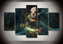 Dragon Ball z – 5 Panels – Canva Wall Art (Unframed) (6 types)