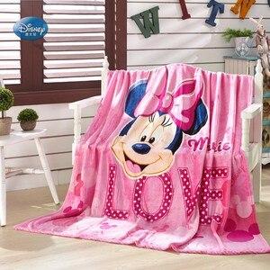 Image 4 - Couverture en flanelle douce à jeter, en dessin animé Disney, Winnie Mickey Mouse, sur le lit, canapé et canapé, 150x200cm, cadeau pour enfants