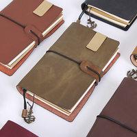 Rocznika Skórzane Podróżnik's Journal Notebooka Pamiętnik Handmade Sketchbook Uzupełniania Papieru Prezent Spersonalizowane Uzyskać Akcesoria