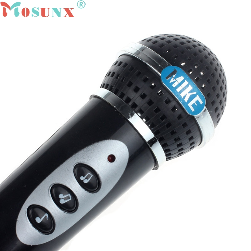 Mosunx Microphone Microfono Inalambrico Girls Boys Microphone Mic Karaoke Singing Kid Funny Gift Music Toy wholesale