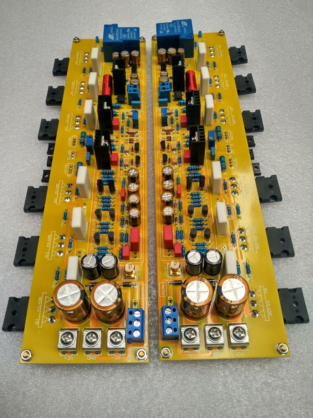 KRELL KSA50 amplifier circuit 50W 2SC5200/2SA1943 +2SC2073/2SA940 +2SC5171/2SA1930 Tube Class A Pure after class amplifier board 2sa1943 2sc5200