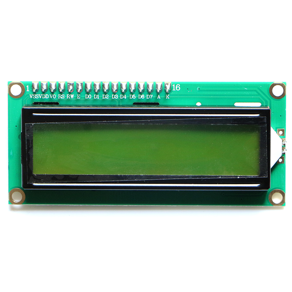 1pcs 1602 Yellow Backlight LCD Display Module