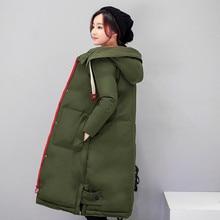 Женская Тонкий утолщение печати жира ММ тонкий хлопок-проложенный Зимняя куртка женская длинная версия Плюс размер Топы LJ739