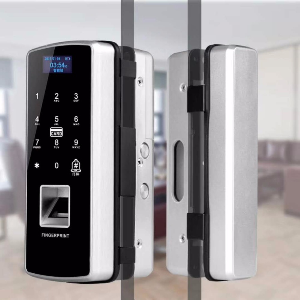 Wireless Remote Control / ID Card/Fingerprint Door Access Control Electric Lock ...