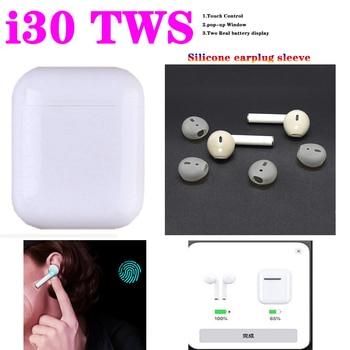 I30 TWS 1:1 Replica Pop-up Wireless Earphone Bluetooth 5.0 Earphones noise canceling headphone Headset VS i10 i11 i14 i13 i20tws