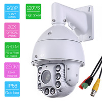 805 AHD20XA Similar To SDI CVI Analog HD 1 3MP AHD Speed Dome Camera With BNC