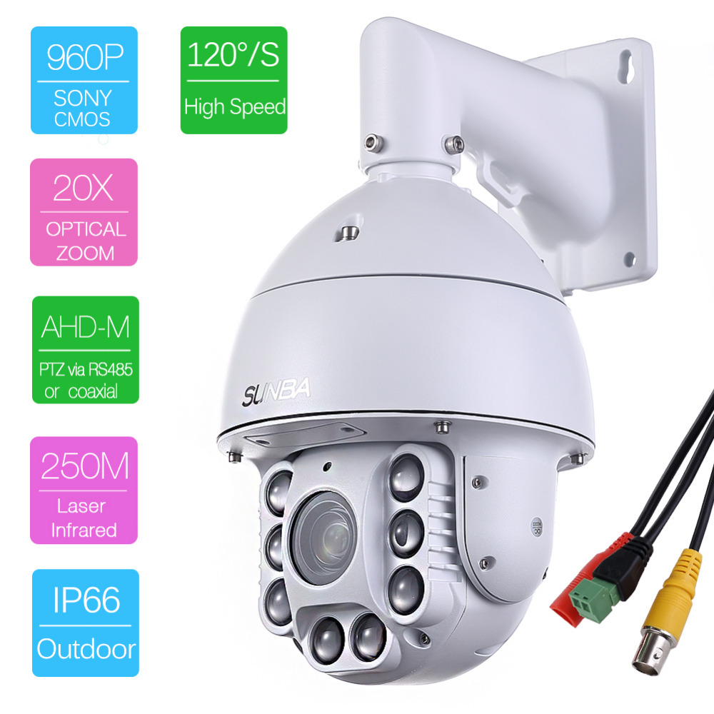 805-AHD20X  similar to SDI & CVI Analog HD 1.3MP AHD high Speed Dome Camera with BNC & RS485 PTZ via Coaxial &485 fg 1080p 2 0 megapixel hd sdi mini high speed dome camera ip66 weather protection rs 485 remote control support pal ntsc